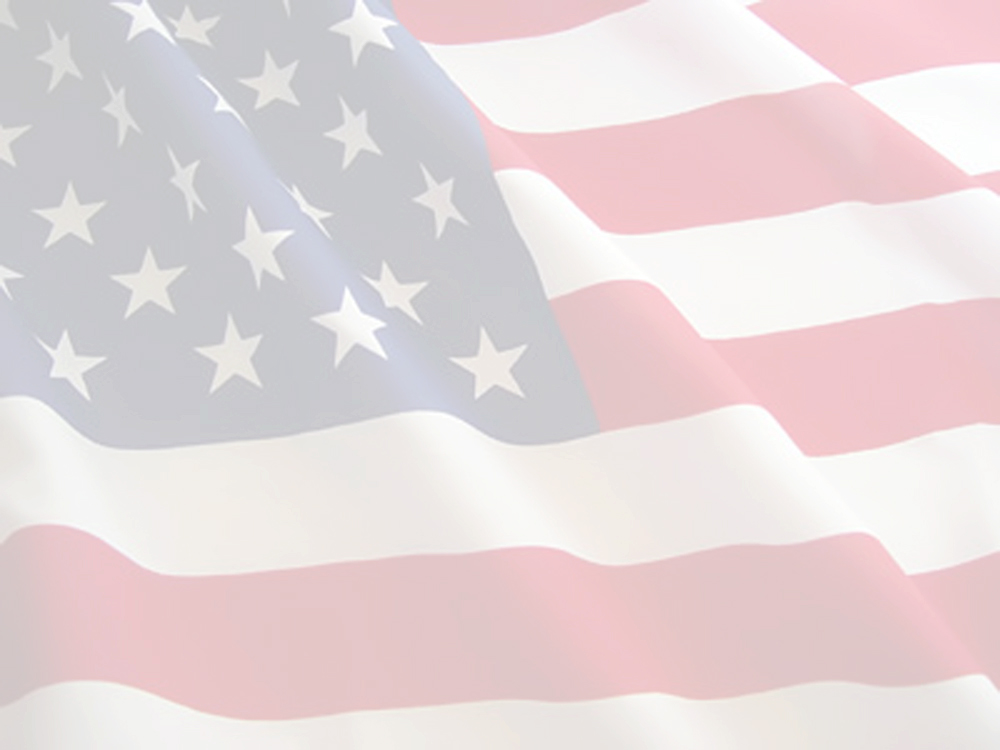 U.S. flighing Flag Background Image